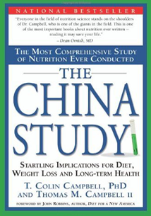 A book by T. Colin Campbell and Thomas M. Campbell II, who explain the connection between nutrition and heat disease, diabetes, cancer, obesity, and the effects of aging.