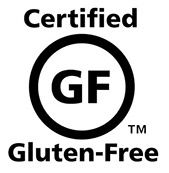 A label to indicate when a product is gluten-free.