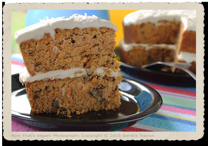 An dessert recipe that's vegan and gluten-free.