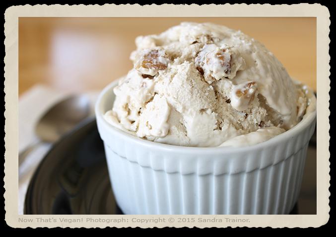 A vegan frozen dessert that's delicious.