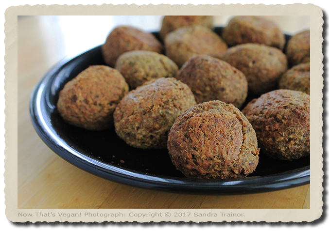Vegan and Gluten-Free Meatballs