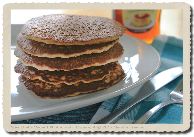 Pancakes that are gluten-free, vegan, and tasty!