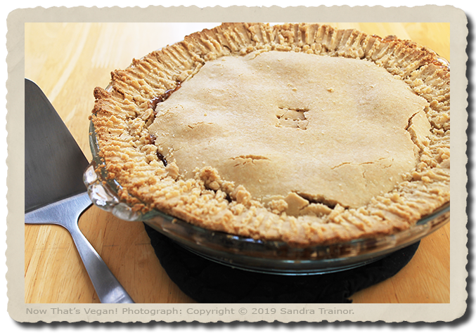 Guten-Free and Vegan Pie Crust
