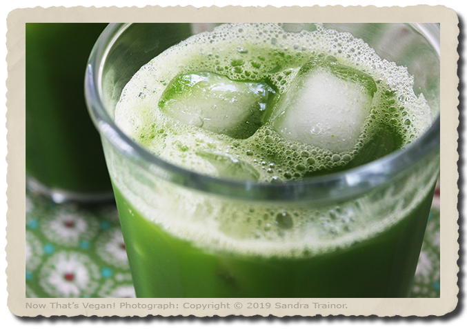 A Blended Green Juice