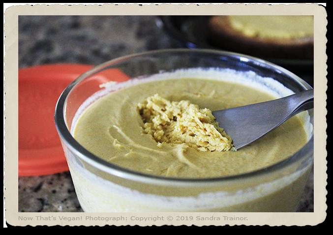 A vegan butter spread.
