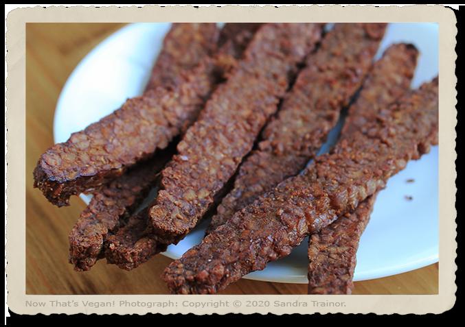 Vegan Bacon Breakfast Stips